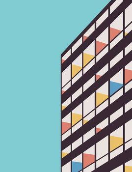 Canvastavla Le Corbusier