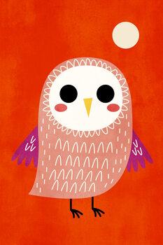 Canvastavla Little Owl