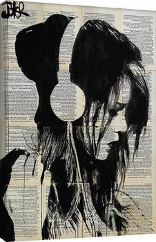 Canvastavla Loui Jover - Melodies Solace