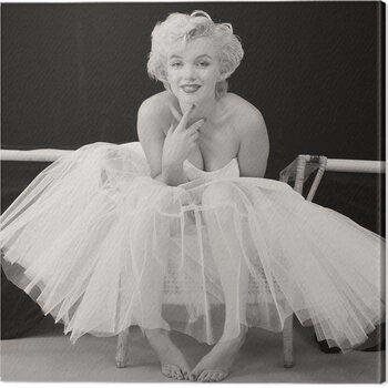 Canvastavla Marilyn Monroe - Ballerina