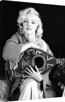 Canvastavla Marilyn Monroe - Lute