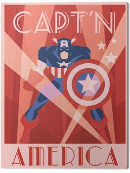 Canvastavla Marvel - Captain America