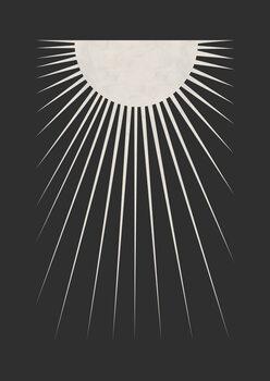 Canvastavla Minimal Moon