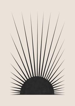 Canvastavla Minimal Sun