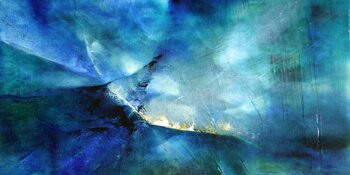 Canvastavla moody blue II