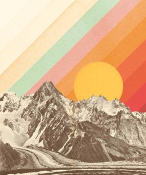 Canvastavla Mountainscape 1
