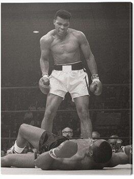 Canvastavla Muhammad Ali - Ali vs Liston Portrait