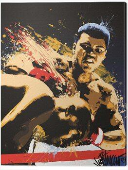 Canvastavla Muhammad Ali - Stung