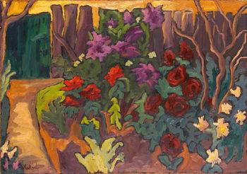 Canvastavla Mum's Garden, 2003