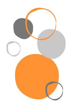Canvastavla Orange World