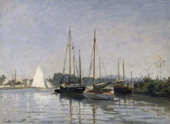 Canvastavla Pleasure Boats, Argenteuil, c.1872-3