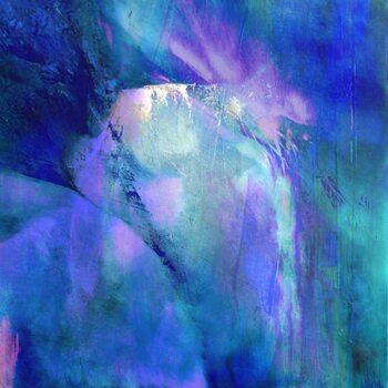 Canvastavla purple harmony