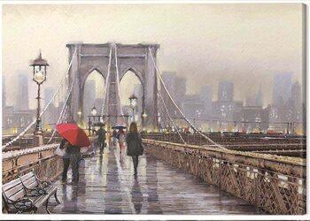 Canvastavla Richard Macneil - Brooklyn Bridge
