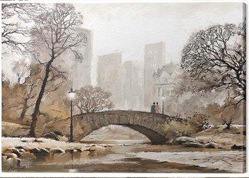 Canvastavla Richard Macneil - Gapstow Bridge