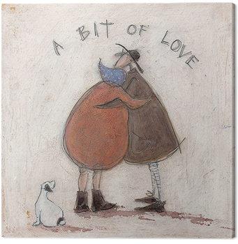 Canvastavla Sam Toft - A Bit of Love