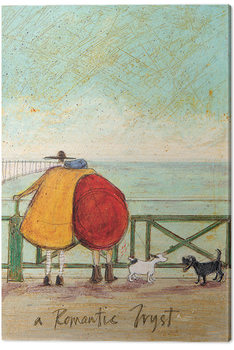 Canvastavla Sam Toft - A Romantic Tryst