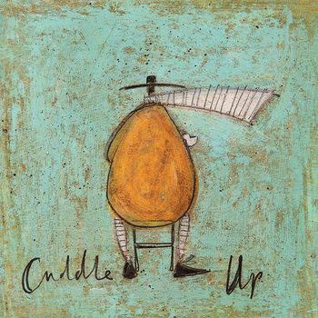 Canvastavla Sam Toft - Cuddle Up