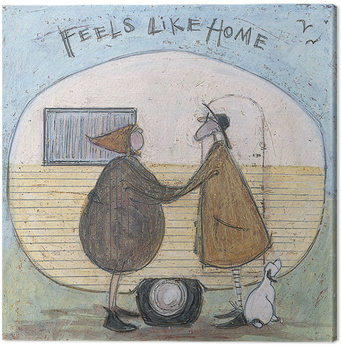 Canvastavla Sam Toft - Feels Like Home