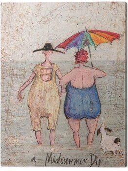 Canvastavla Sam Toft - Midsummer Dip