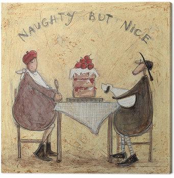 Canvastavla Sam Toft - Naughty But Nice