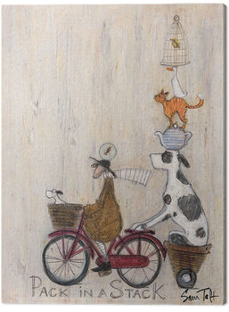 Canvastavla Sam Toft - Pack in a Stack
