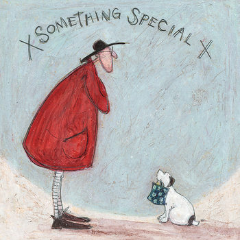 Canvastavla Sam Toft - Something Special