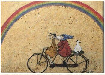 Canvastavla Sam Toft - Somewhere Under a Rainbow