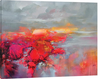 Canvastavla Scott Naismith - Molecular Bonds 2