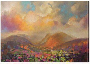 Canvastavla Scott Naismith - Nevis Range Colour