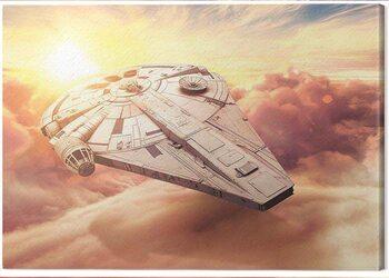 Canvastavla Solo: A Star Wars Story - Millennium Falcon