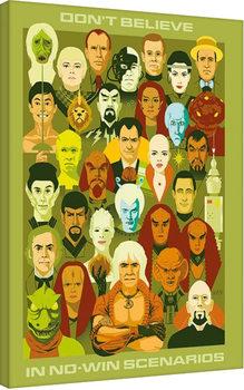 Canvastavla Star Trek: No Win Scenarios - 50th Anniversary
