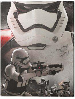 Canvastavla Star Wars Episode VII - Stormtrooper Art