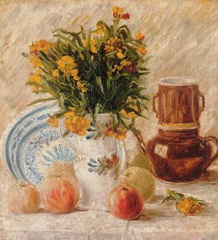 Canvastavla Still Life, 1887