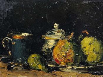 Canvastavla Still Life, c.1865