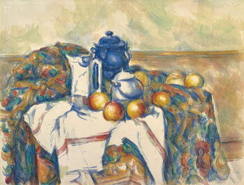 Canvastavla Still Life with Blue Pot