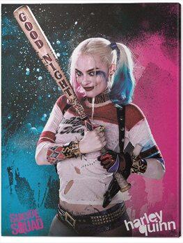 Canvastavla Suicide Squad - Harley Quinn