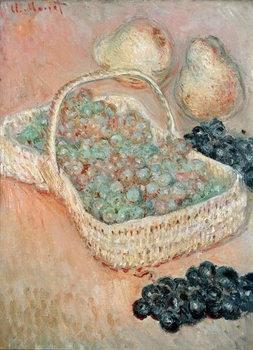 Canvastavla The Basket of Grapes, 1884