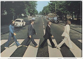 Canvastavla The Beatles - Abbey Road