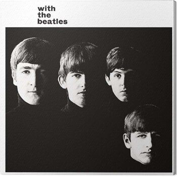 Canvastavla The Beatles - With the Beatles