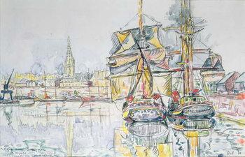 Canvastavla The 'Emerald Coast', St. Malo, 1931