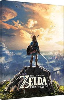 Canvastavla The Legend Of Zelda: Breath Of The Wild - Sunset