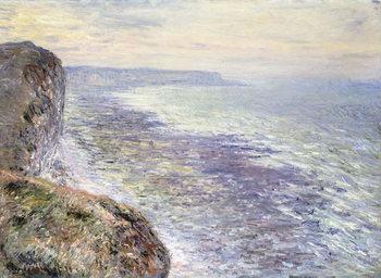 Canvastavla The Sea near Fecamp; Pres de Fecamp, Marine, 1881