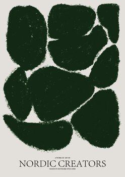 Canvastavla Things fall apart - Green
