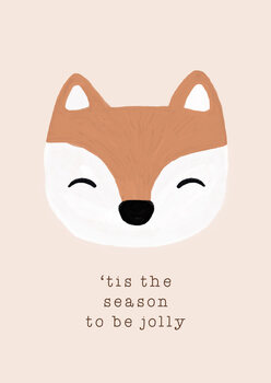 Canvastavla Tis The Season To Be Jolly