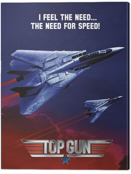 Canvastavla Top Gun - Need For Speed Jets