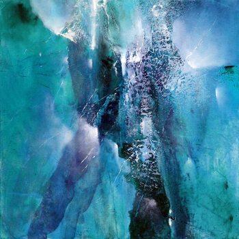 Canvastavla turquoise fantasy