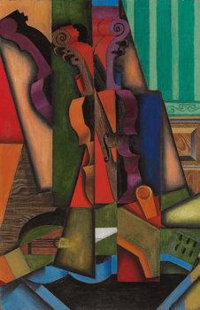 Canvastavla Violin and Guitar, 1913