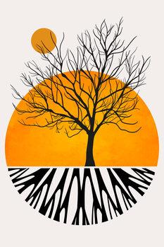 Canvastavla Warming Roots