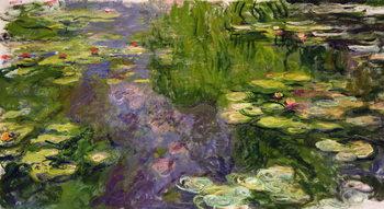 Canvastavla Waterlilies