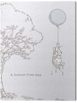Canvastavla Winnie The Pooh - Bother Free